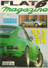 FLAT 6 66 PORSCHE 911 SR 2.3 240CH 1970 964 TURBO 3.6 3.3 LEICHBAU 380CH 718 787