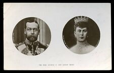 Royalty TM GEORGE V Queen Mary early Philco series RP PPC picture postcard