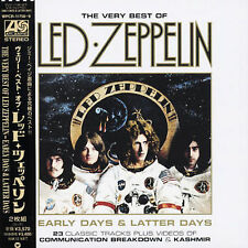 Led Zeppelin - Early Days & Latter Days (CD, Dec-2003, Wea) JAPAN NEW