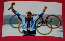 BEN AINSLIE HAND SIGNED AUTOGRAPH PHOTO SAILING 2012 OLYMPICS GOLD MEDAL WINNER