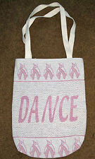 Dance With Me Ballet Ballerina Tapestry Tote Bag