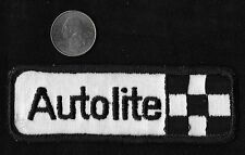 Vintage 60s-70s AUTOLITE Spark Plugs Truck Car Vehicle Hot Rod Collectors Patch