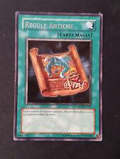 REGOLE ANTICHE STON-IT037  ITA YU-GI-OH - YUGI - YGO [MF]