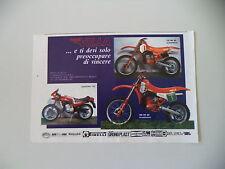 advertising Pubblicità 1982 MOTO VILLA 125 MC/SEBRING 125/250 MC '83