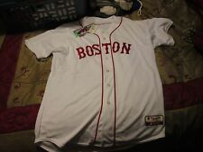 MLB Majestic Boston Red Sox Authentic Cool Base Jersey Sz 40 Made In US