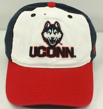 UCONN HUSKIES NCAA PRE SHAPE ADJ. CLOTH BELT CAP NEW BY ZEPHYR F-29