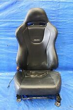 2006 MITSUBISHI EVOLUTION 9 SSL OEM LH FRONT LEATHER RECARO SEAT EVO9 CT9A #453