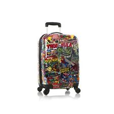"Heys Marvel Comic Luggage 21"" Carry-on Spinner Suitcase Avengers Iron Man"