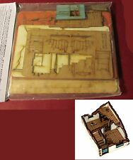 4Ground 28S-WAW-109 28mm World At War Ruined House Type #2  WWII Terrain Ruins