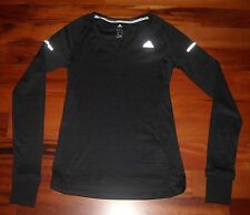 NWT Women'Adidas  Spring Tennis  Long Sleeve Top Size XS  Color Black