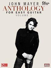John Mayer Anthology for Easy Guitar Volume 1 Sheet Music Easy Guitar  002501524