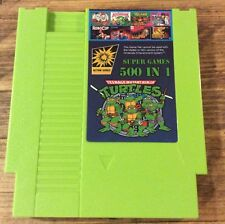 Nintendo nes Bundle cart 500 in 1 Cart Turtles 1-4 Chip And Dale 1-2 Donkey Kong