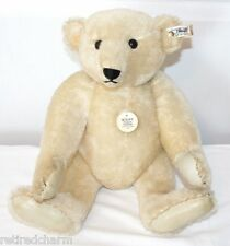 "❤STEIFF LEATHER PAW ~Margaret Strong White Bear~ Collectors Ed 1985 16"" 0158/41❤"