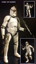 STAR WARS BLACK SERIES 6 INCH CLONE TROOPER PHASE 1 GRUNT FIGURE