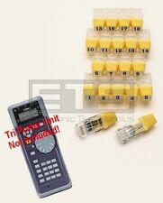 Test-Um JDSU Tri Porter IVT600 TP312 RJ45 Remote Identifier Mapper IDs 1-20