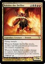RAKDOS THE DEFILER Dissension MTG Gold Creature — Demon RARE