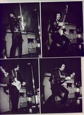 JIMI HENDRIX 'in action' magazine PHOTO/Poster/clipping 11x8 inches