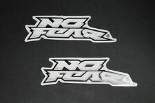 No Fear NoFear Aufkleber Sticker Race Skate Moto Decal Bapperl Kleber Logo 14a
