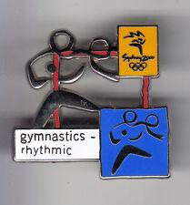 RARE BIG PINS PIN'S .. OLYMPIQUE OLYMPIC SYDNEY 2000 GYM GYMNASTIQUE 3D ~13
