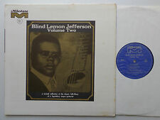 Blind Lemon JEFFERSON Volume Two(1926/28) USA LP MILESTONE MLP 2007 (1968) - EX+