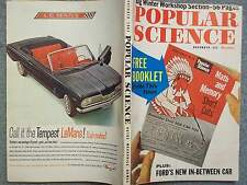 1961 POPULAR SCIENCE NOVEMBER  MATH AND MEMORY SHORT CUTS  FORD'S NEW IN-BETWEEN