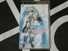 Playstation Portable PSP Import Game Hatsune Miku Project Diva Extend Japan