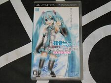 Playstation Portable PSP Import Game Hatsune Miku Project Diva Extend Japan