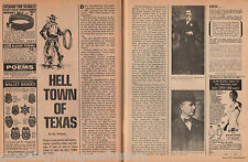 Hell Town Of Texas - El Paso Sheriff Dallas Stoudenmire
