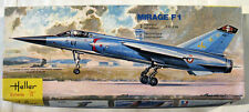 "COLLECTOR 1/72 HELLER Plastic model kit MIRAGE F1C /F1B 1st EDITION ""Yellow box"""