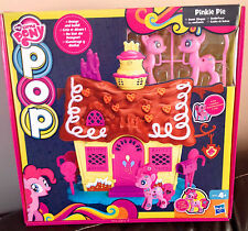 BNIB My Little Pony Pop Pinkie Pie Sweet Shop Playset & design your own pony