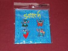 NEW Disney Parks Lilo & Stitch Pin Set Of 4 Four Booster Pins Pack New Sealed