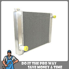 "New Universal Ford/Mopar Fabricated Aluminum Racing Radiator 24"" x19"" x3"""