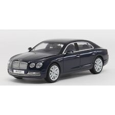 KYOSHO SUPERB 1:43 SCALE MODEL BENTLEY FLYING SPUR IN PEACOCK DARK BLUE   NIB