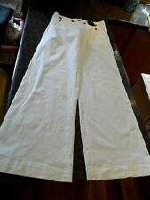 Vivenne Westwood Anglomania white sailor front 38 new with tags