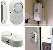 Wireless Home Security Door Window Entry Burglar Alarm System Magnetic Sensor