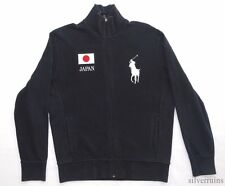 POLO By RALPH LAUREN Sweater Jacket JAPAN Logo Zip Up shirt SPORTS ATHLETIC