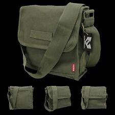 Tactical US Military Army Field Shoulder Messenger Bag, OD Satchel Rapdom R34