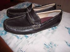 Sperry Top-Sider Navigator Venetian Driving Loafers Dk Brown Lthr Shoes Sz