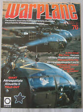 Warplane Issue 76 Aerospatiale Alouette II & III cutaway drawing & poster