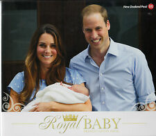 New Zealand 2013 MNH FDC Royal Baby Presentation Pack Prince George William Kate