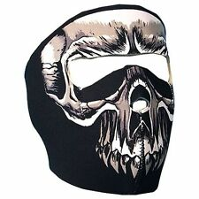 Punisher Skull Neoprene Full Face Mask Biker Costume Paintball ATV Free Shipping