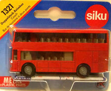 SIKU 1321 DOUBLEDECK BUS BLISTER CARD