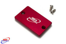YAMAHA YFM 660 2001-2005 700 2006-2017 R RAPTOR FRONT BRAKE RESERVOIR COVER RED