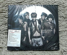 Super Junior - MR.SIMPLE [Version B] (VOL.5) [CD+Photobook+Photocard] + GIFT