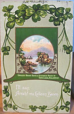 Irish Postcard ARRAH! COLLEEN BAWN Rock Victoria Rock Killarney Ireland NY 1912