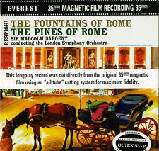 SDBR 3051 RESPIGHI/Sargent/LSO: Fountains/Pines of Rome 200g LP Everest SEALED