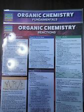 Barcharts Lot of 2 Different Organic Chemistry Quick Study Guides