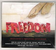 2 CDs + DVD. Freedom. Artists United for International Justice Mission.Nuevo.CCM