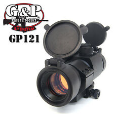 G&P Airsoft 30mm AP Military Red Dot Sight (GP121) for AEG GBB 20mm Weaver Rail