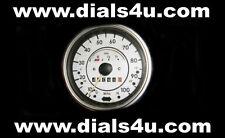 Volkswagen Escarabajo Vw Mk1 (1938-2003) - de 100 mph-Dial blanco Kit
